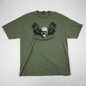 Harley Davidson Central Texas TShirt Size XL Green
